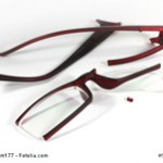 Brille zerstört