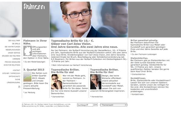 Brillenversicherung Fielmann