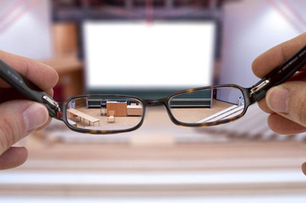 Weitsichtigkeit Brille