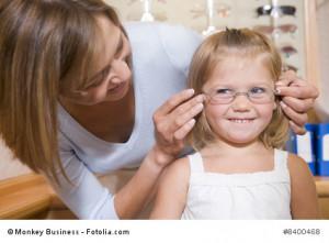 Fehlsichtigkeit bei Kindern