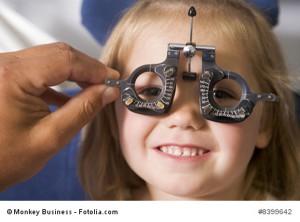 Sehvermögen beim Kind