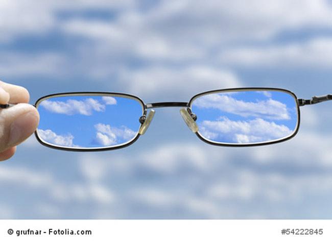 Kurzsichtigkeit Brille
