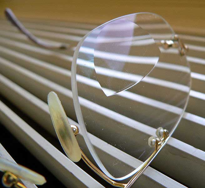 Bifokalbrille (Brillenglas)